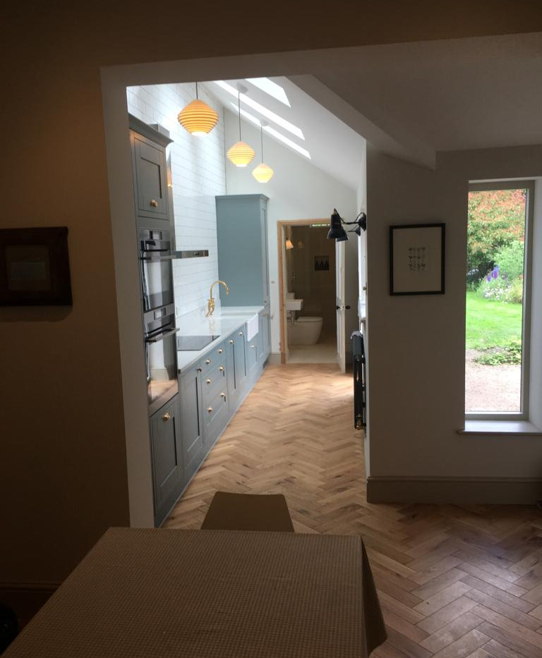 Single storey home extension