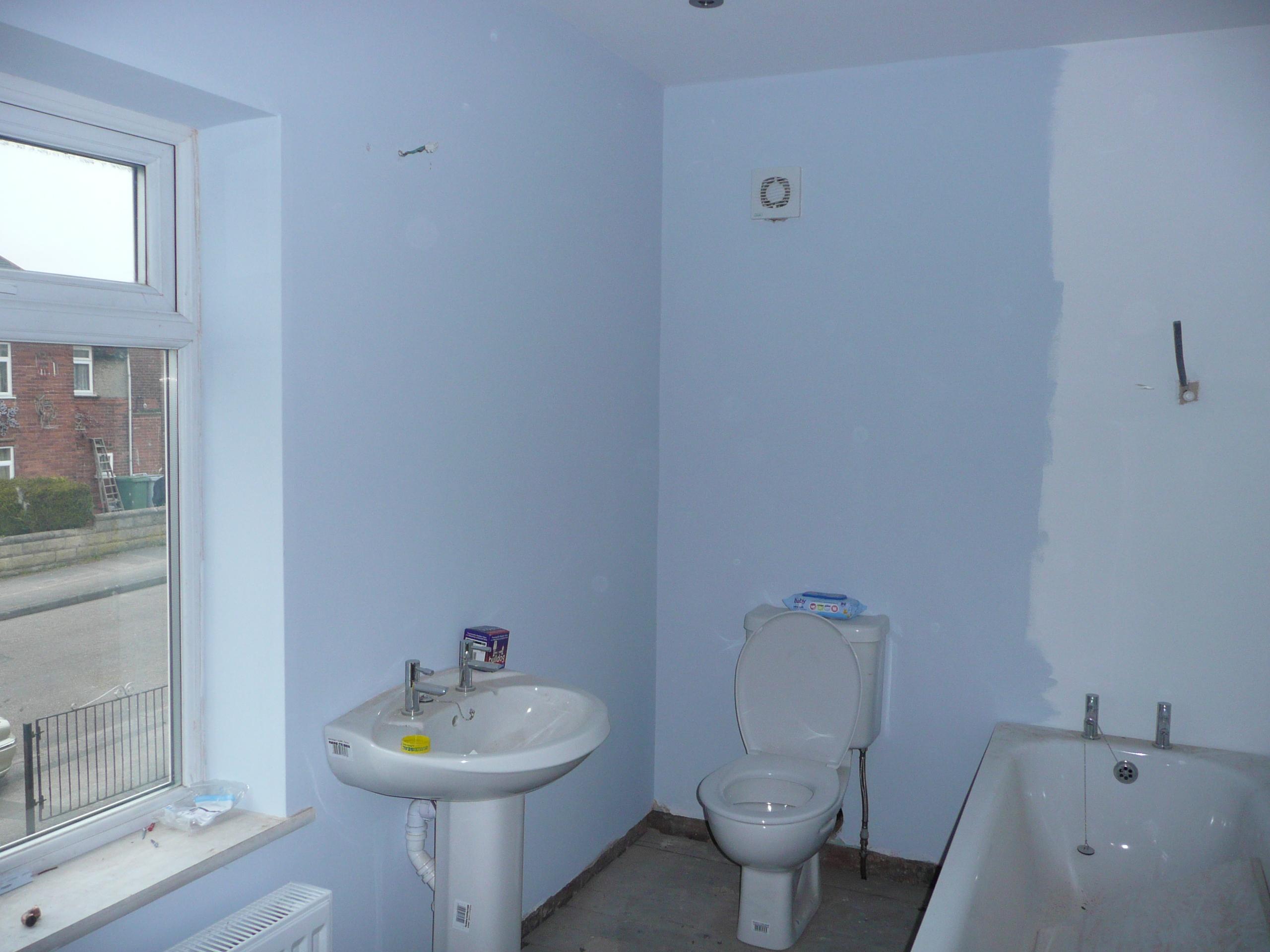Example of new bathroom