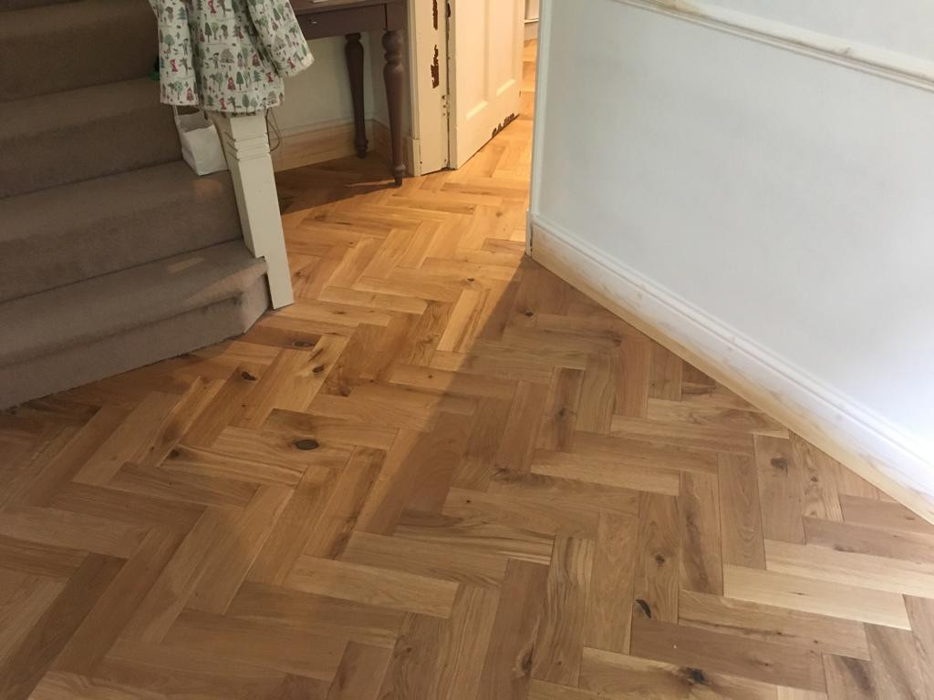 Beautiful new flooring fitted
