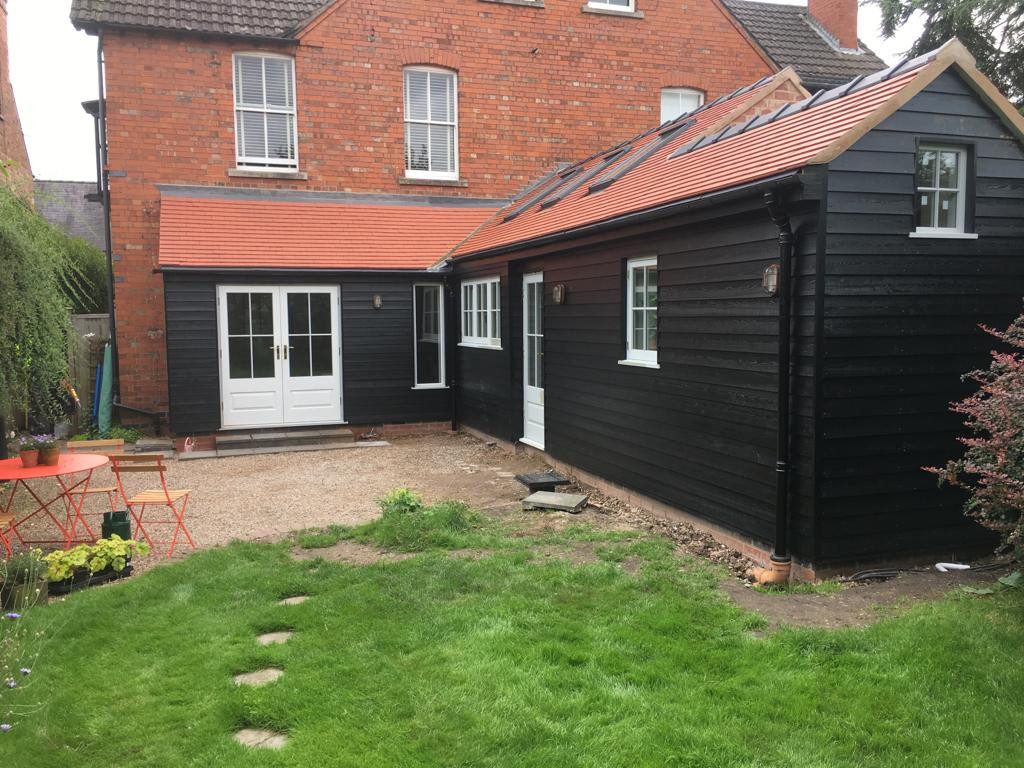 Rear single storey extension