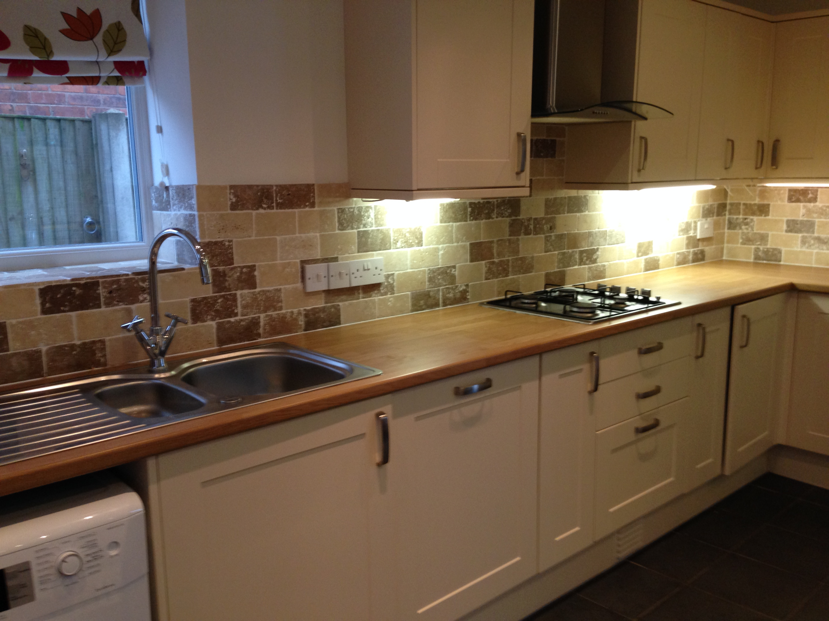 Completed kitchen installation