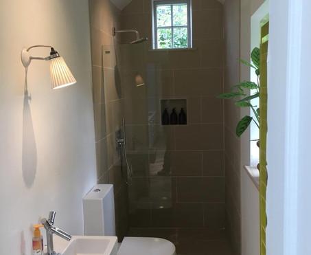 Bathroom in single storey home extension
