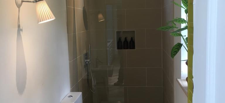 Bathroom in single storey home extension