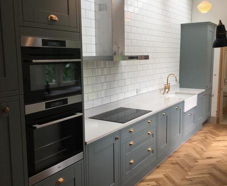 Single storey kitchen extension