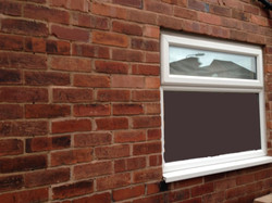 New window added to existing home