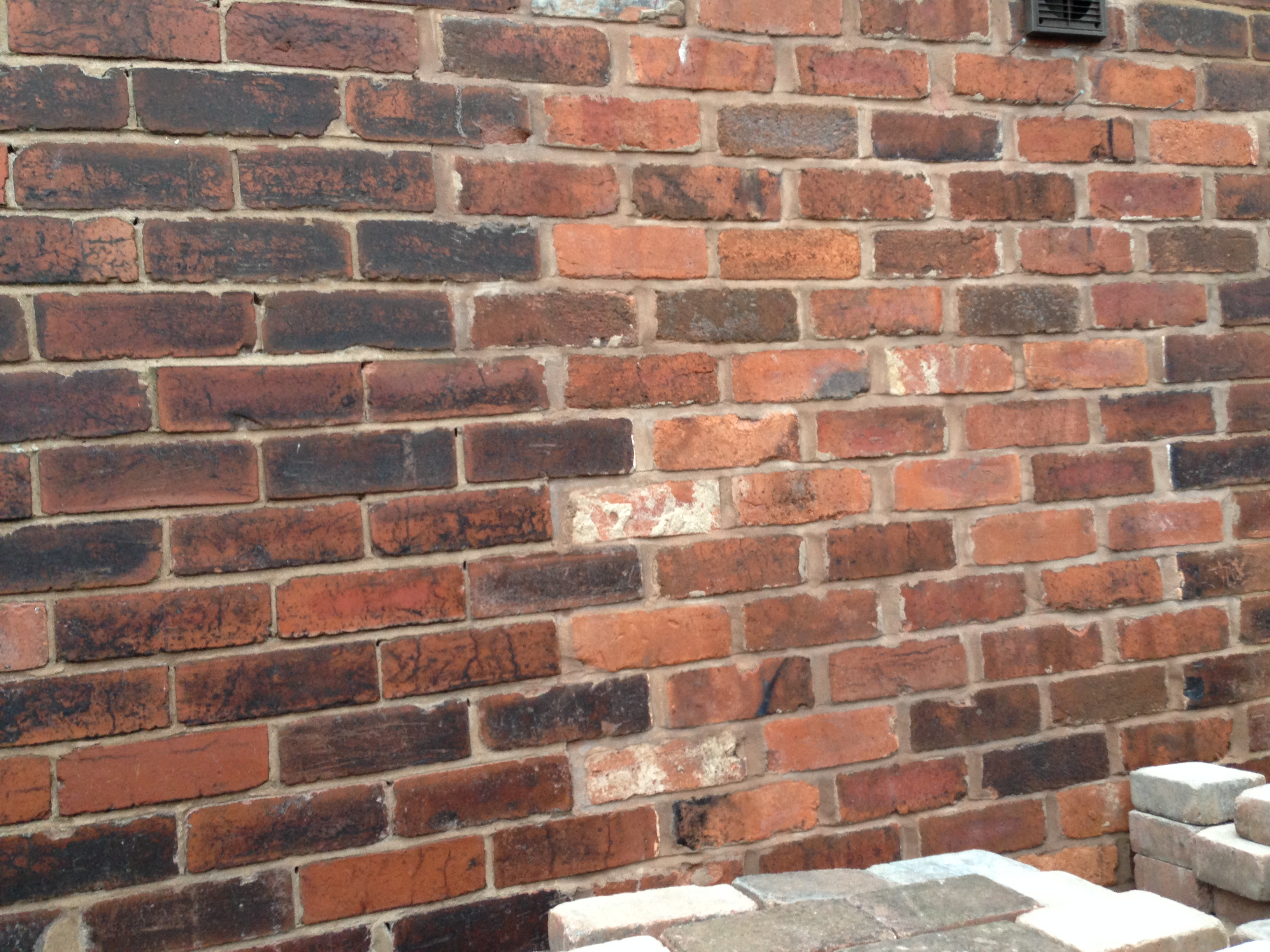 Door removed and bricked up