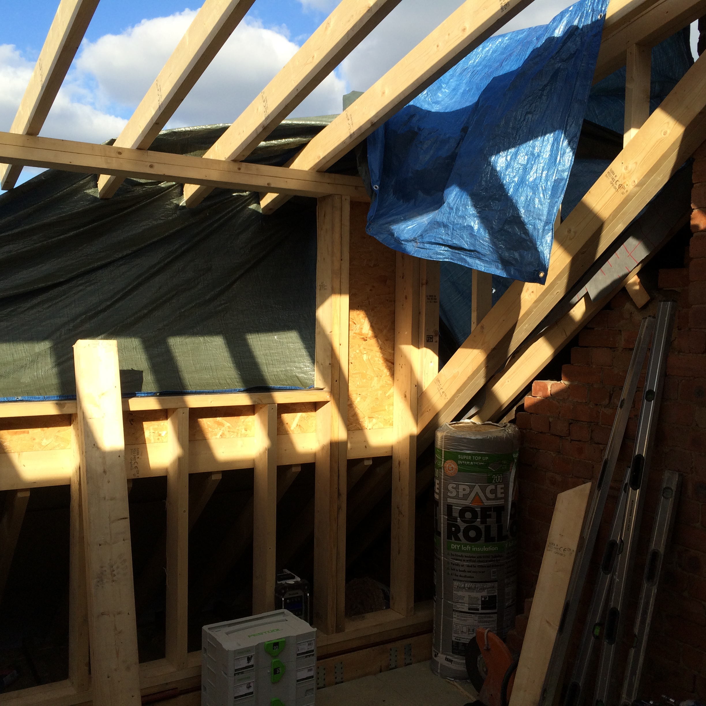 Loft conversion and new entrance