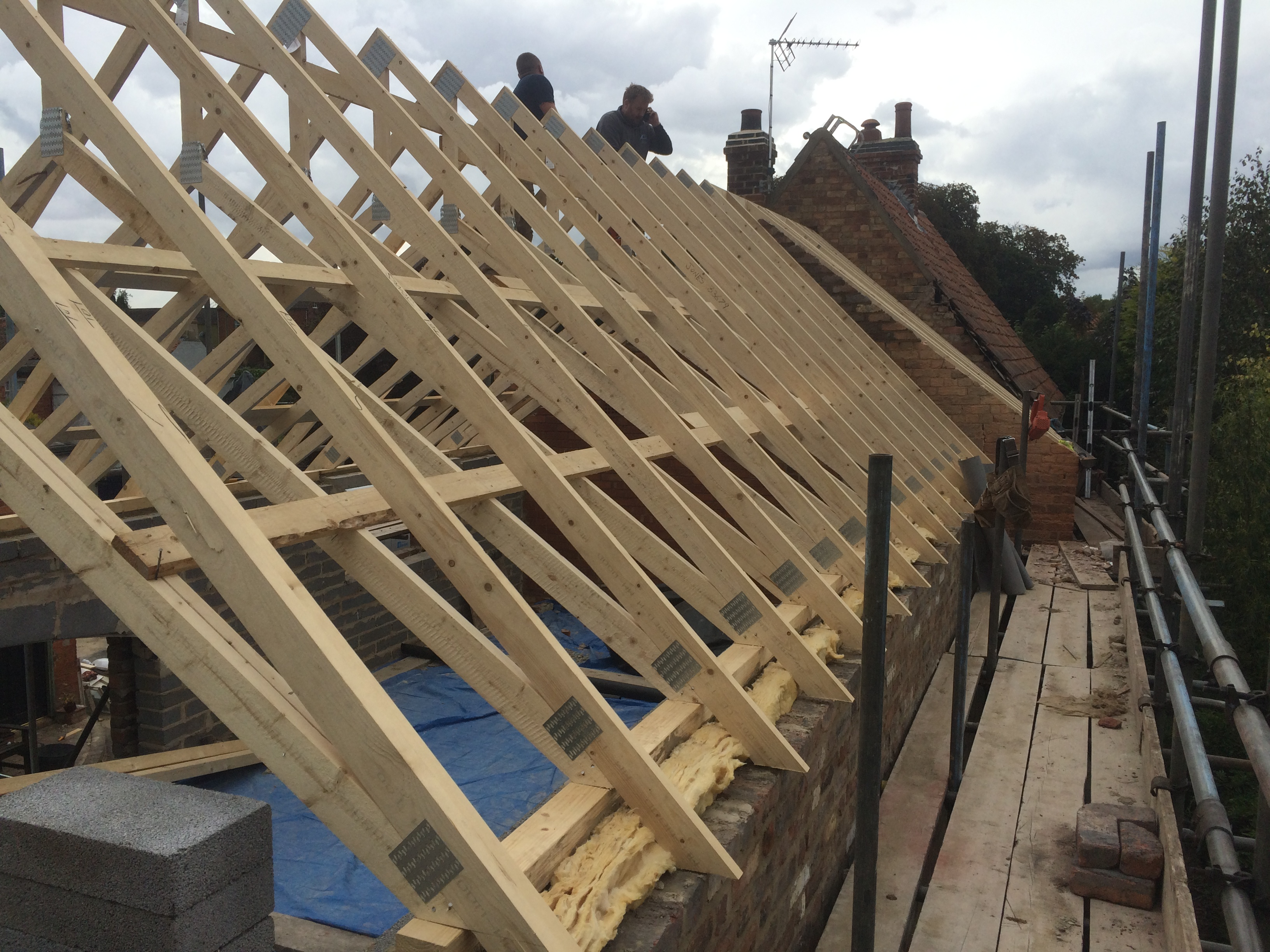 Large double storey home extension