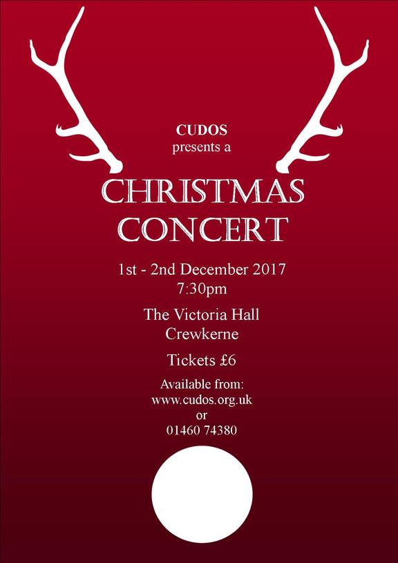 Tickets now on sale for CUDOS Christmas Concert