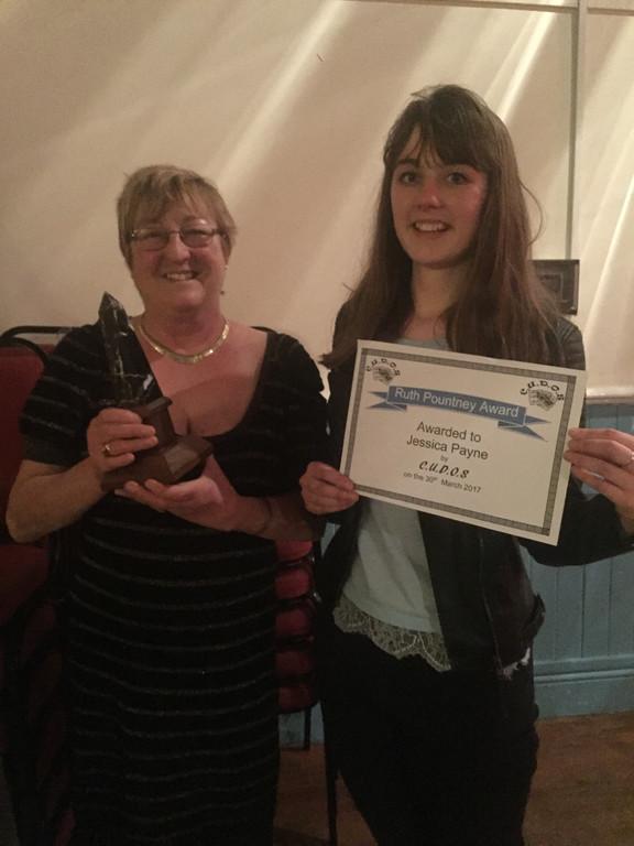 CUDOS Award for Jessica
