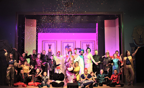 A standing ovation at Crewkerne for CUDOS's Aladdin