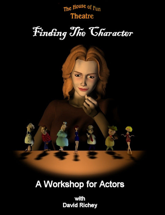 "Workshop ""Finding the Character"" Sunday 15th October  9:30am-5:30pm in the Victoria Hall"