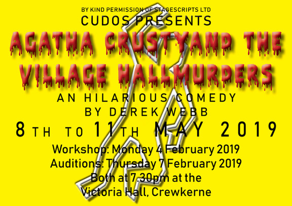 Open auditions for our next play all welcome