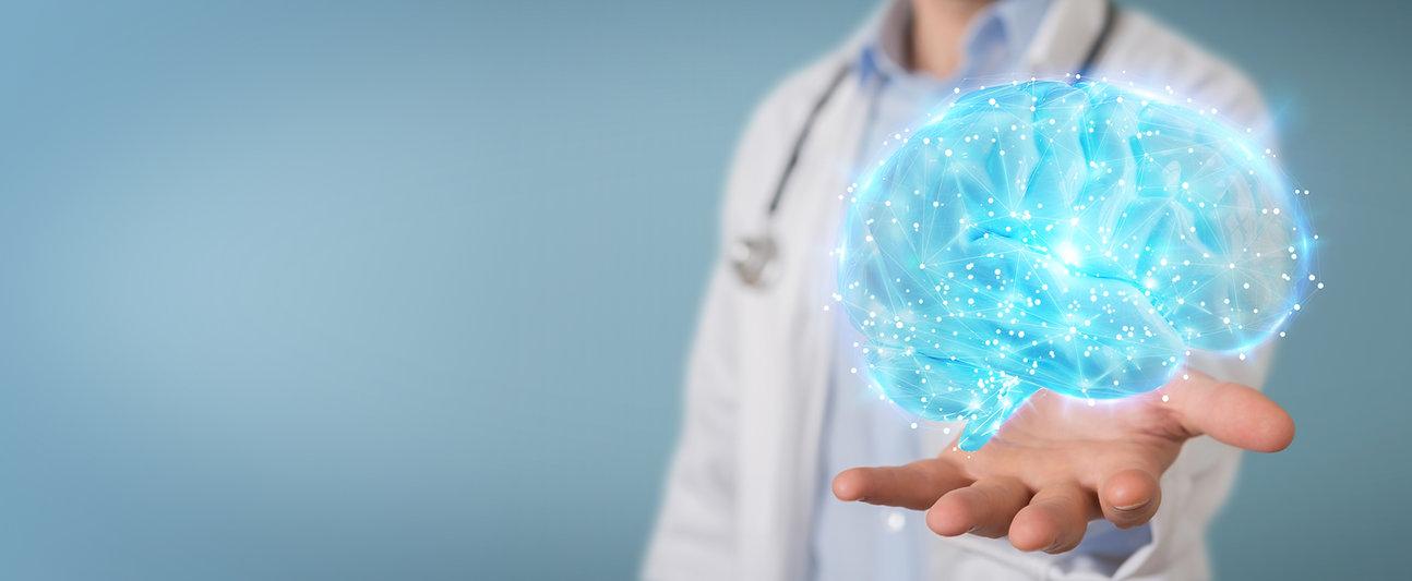 doctor-using-digital-brain-scan-hologram