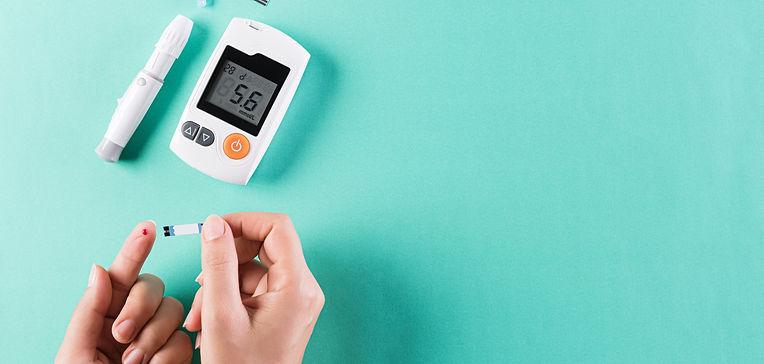 healthcare-concept-diabetic-measures-lev