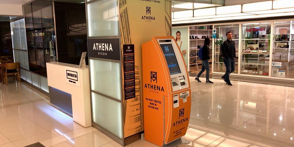 Athena Bitcoin cajero argentina