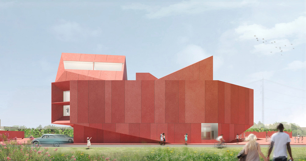 'RUBY CITY', POR ADJAYE ASSOCIATES (SAN ANTONIO, TEXAS, EE UU)