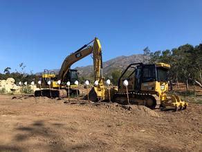 Construction Underway on Randall Road Debris Basin