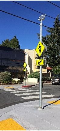 Crosswalk and Roadway