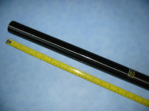 Browning 910 No 6 pole section female joint 14 inches of damage repaired good as new.