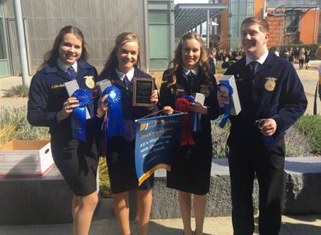Nipomo FFA starts of competition season strong