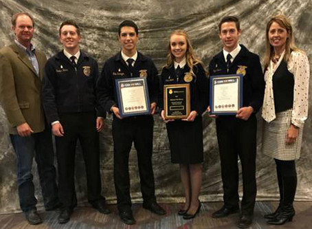 Livestock team is Reserve National champions!