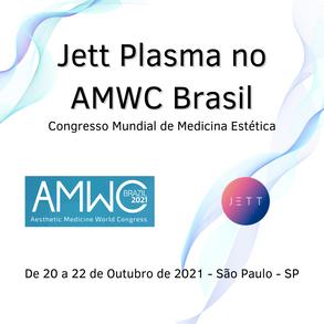 Jett Plasma no AMWC Brasil