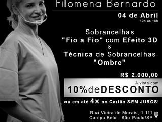 MasterClass Filomena Bernado – 04/04/2017