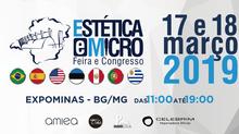 Celebrim na Estética e Micro em Belo Horizonte - MG - 17 e 18/03/2019