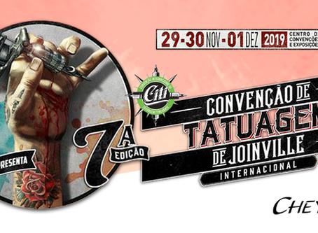 CONVENÇÃO DE TATUAGEM DE JOINVILLE INTERNACIONAL 2019