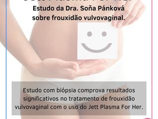 Jett Plasma For Her: Estudo da ginecologista Dra. Soňa Pánková sobre frouxidão vulvovaginal