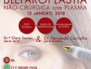 Curso de Blefaroplastia Não-Cirúrgica com Jett Plasma em Goiânia - GO