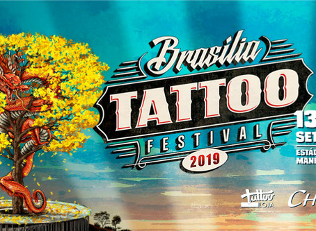 Cheyenne no evento Brasília Tattoo Festival 2019