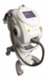 Equipamento de luz intensa pulsada com radiofrequencia e criofrequencia e e-light dermahealth