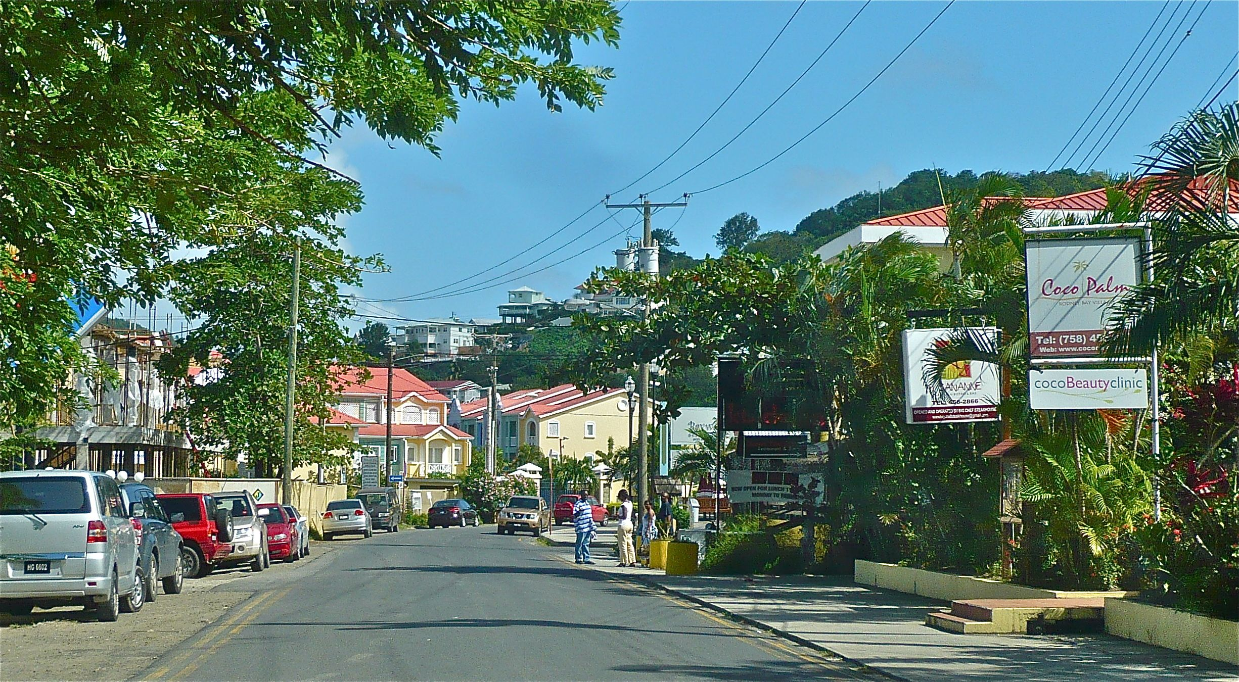 Stroll Rodney Bay Village