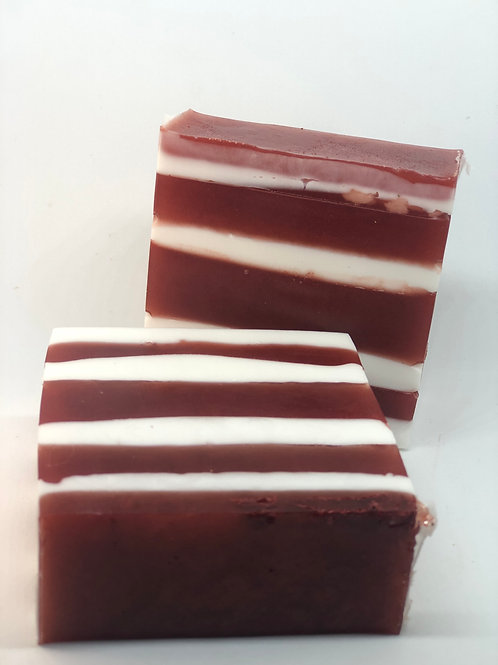 Candy Cane Cheer Bar Soap