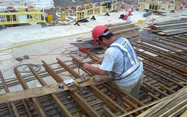Installation of Corrosion Monitoring System