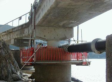 Concrete Repair & installation of CP System on Cable Bridge