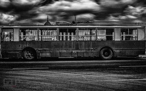 NOBODY NOWHERE Last Trolley in Buda