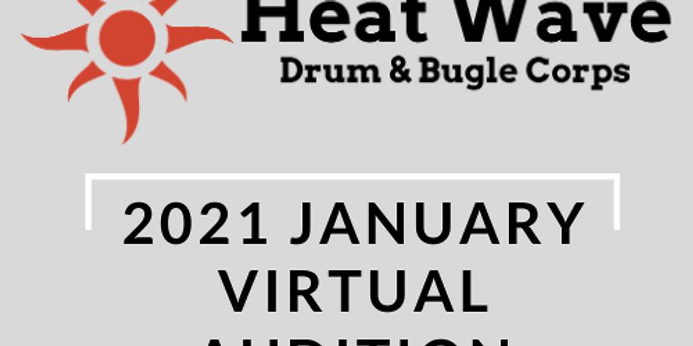 Heat Wave 2021 January Virtual Audition