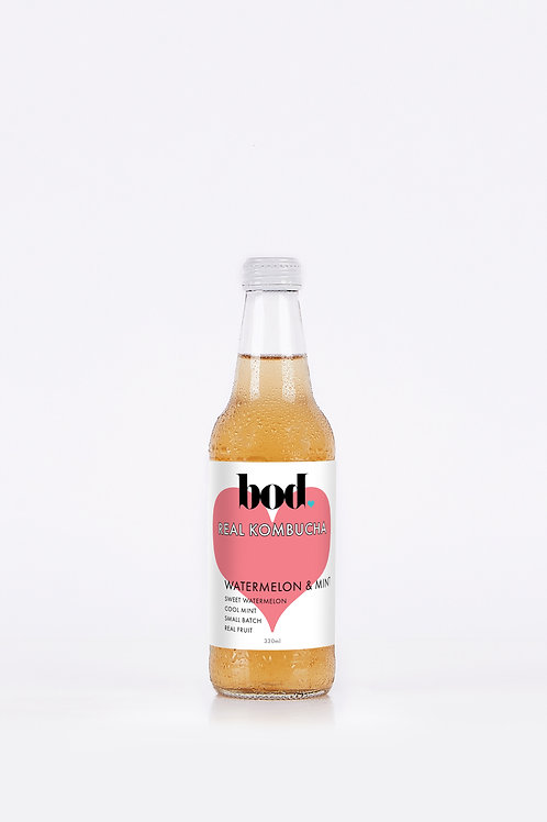 Kombucha - Watermelon & Mint (case of 12 x 330 mL)