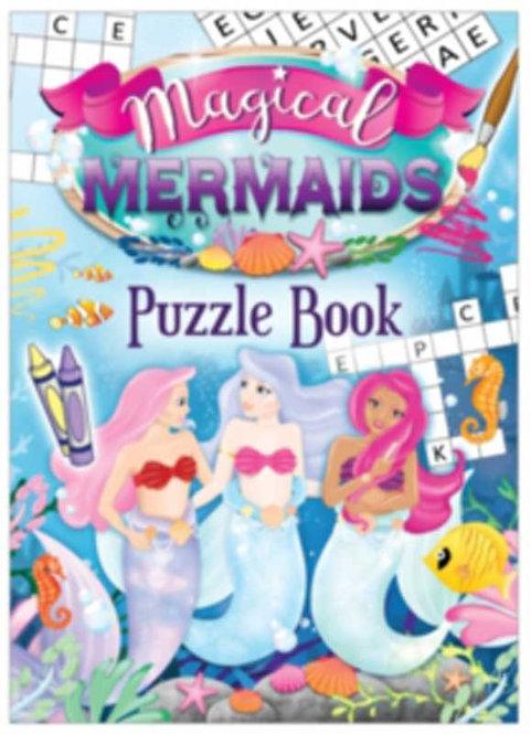 MERMAIDS POCKET PUZZLE BOOK