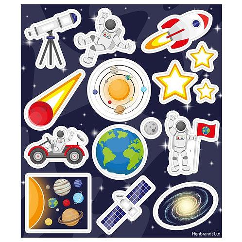SPACE FUN STICKERS