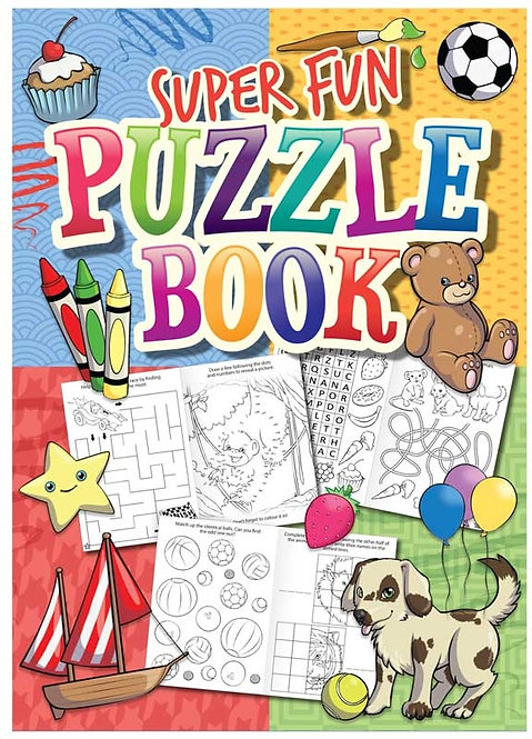 SUPER FUN POCKET PUZZLE BOOK