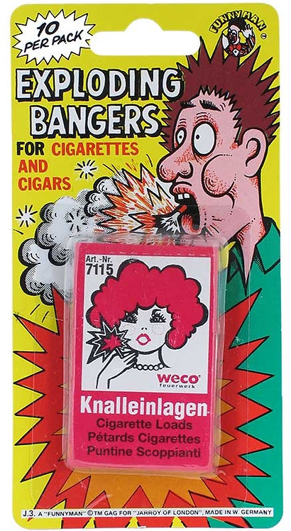 EXPLODING CIGARETTE BANGERS
