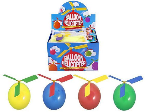 BALLOON POWERED HELICOPTER