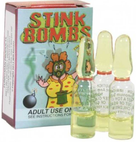 3 x Stink Bombs (1 x Pack)