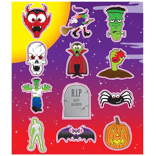 HALLOWEEN FUN STICKERS