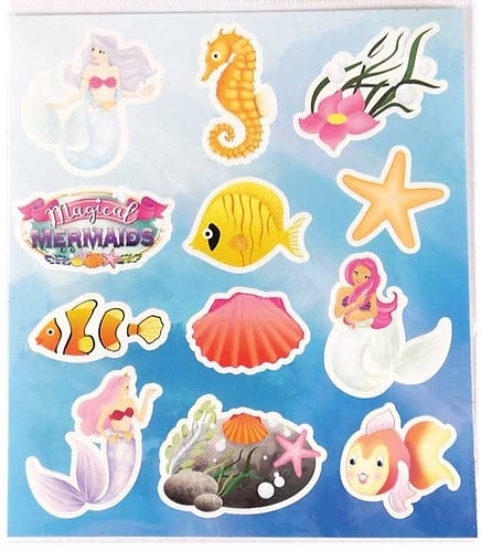 MERMAID FUN STICKERS