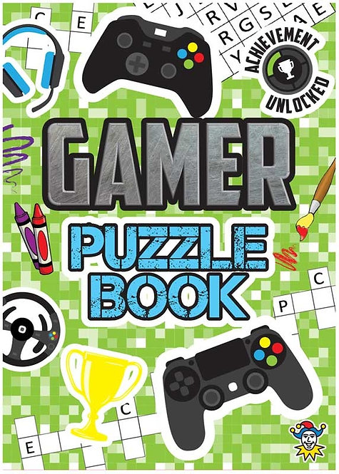 GAMER POCKET PUZZLE BOOK